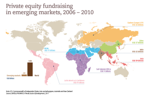 Private equity fundraising in emerging markets, 2006 – 2010