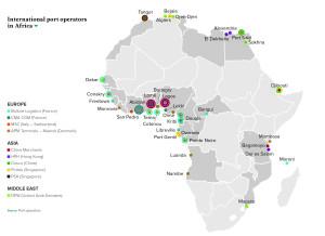 International port operators in Africa