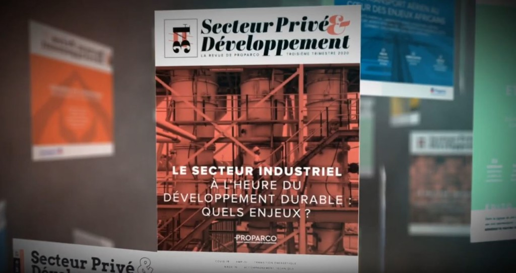 aller a Private Sector and Development N°34 presentation video: Embracing the challenges of sustainable industrial development