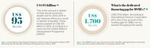 Cost of gender inequalities