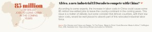 Africa, a new industrial El Dorado to compete with China?